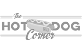 The hot dog corner logo adalides